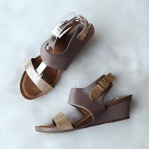 SOFFT Leather VANITA WEDGE SANDAL